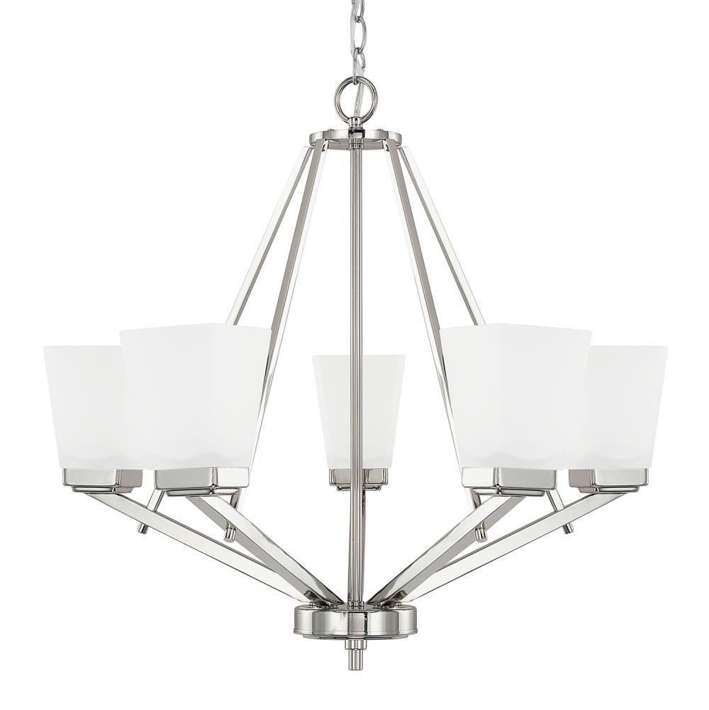 Beautiful Capital Lighting   414451PN 334   5 Light Chandelier Great Ideas