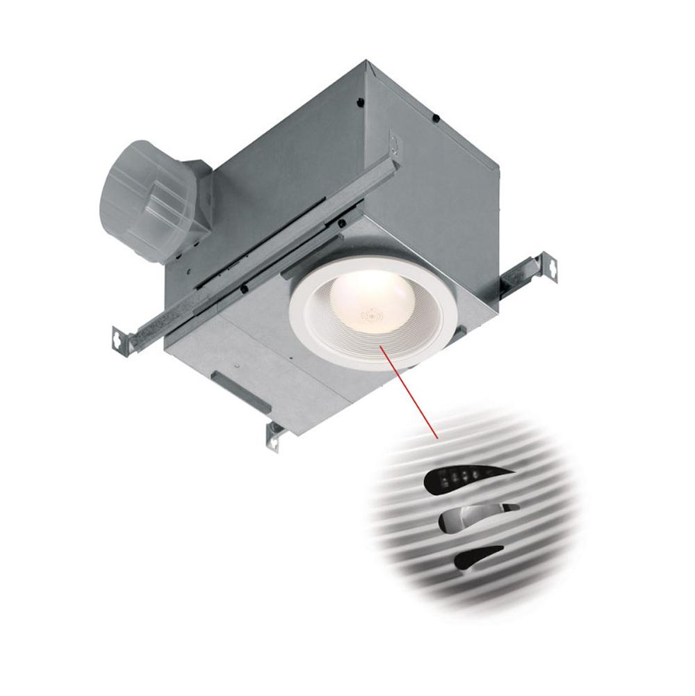 257 01 744sfl Broan Nutone Recessed Humidity Sensing Fan Fluorescent Light