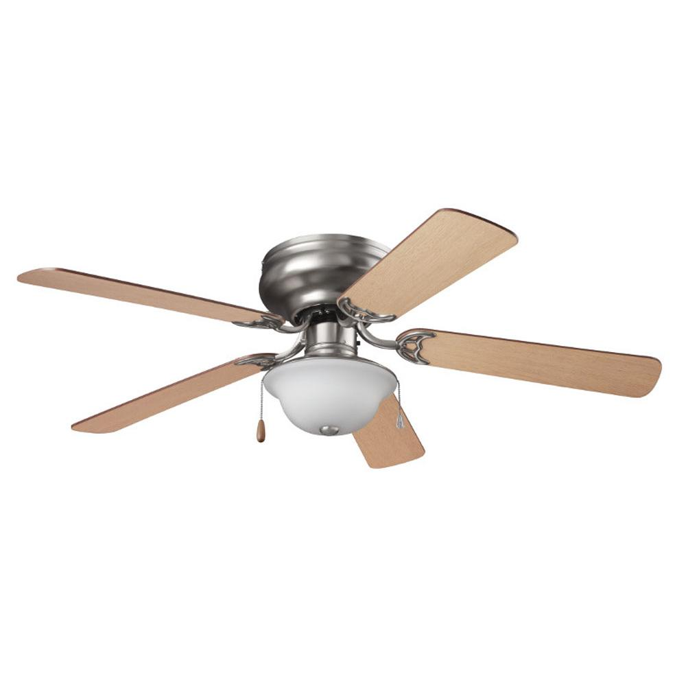 flush mount ceiling fan brushed nickel. Contemporary Mount 13034 And Flush Mount Ceiling Fan Brushed Nickel