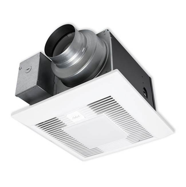 Bathroom Heating And Ventilation Bath Exhaust Fans With Light - Central bathroom exhaust fan
