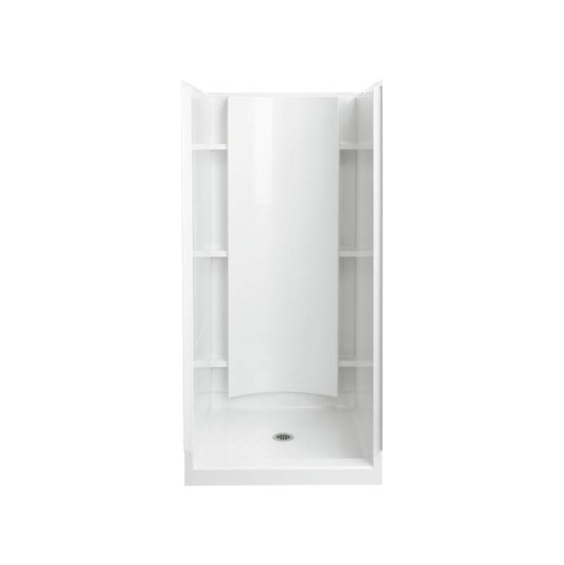 Sterling Plumbing Showers Shower Enclosures White | Central Plumbing ...