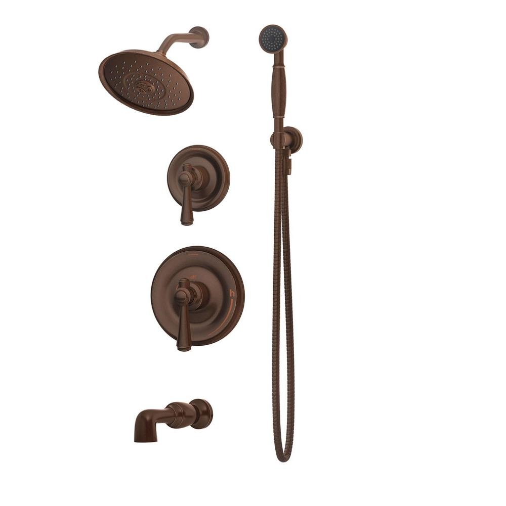 Symmons Showers Shower Systems Oil Rubbed Bronze | Central Plumbing ...