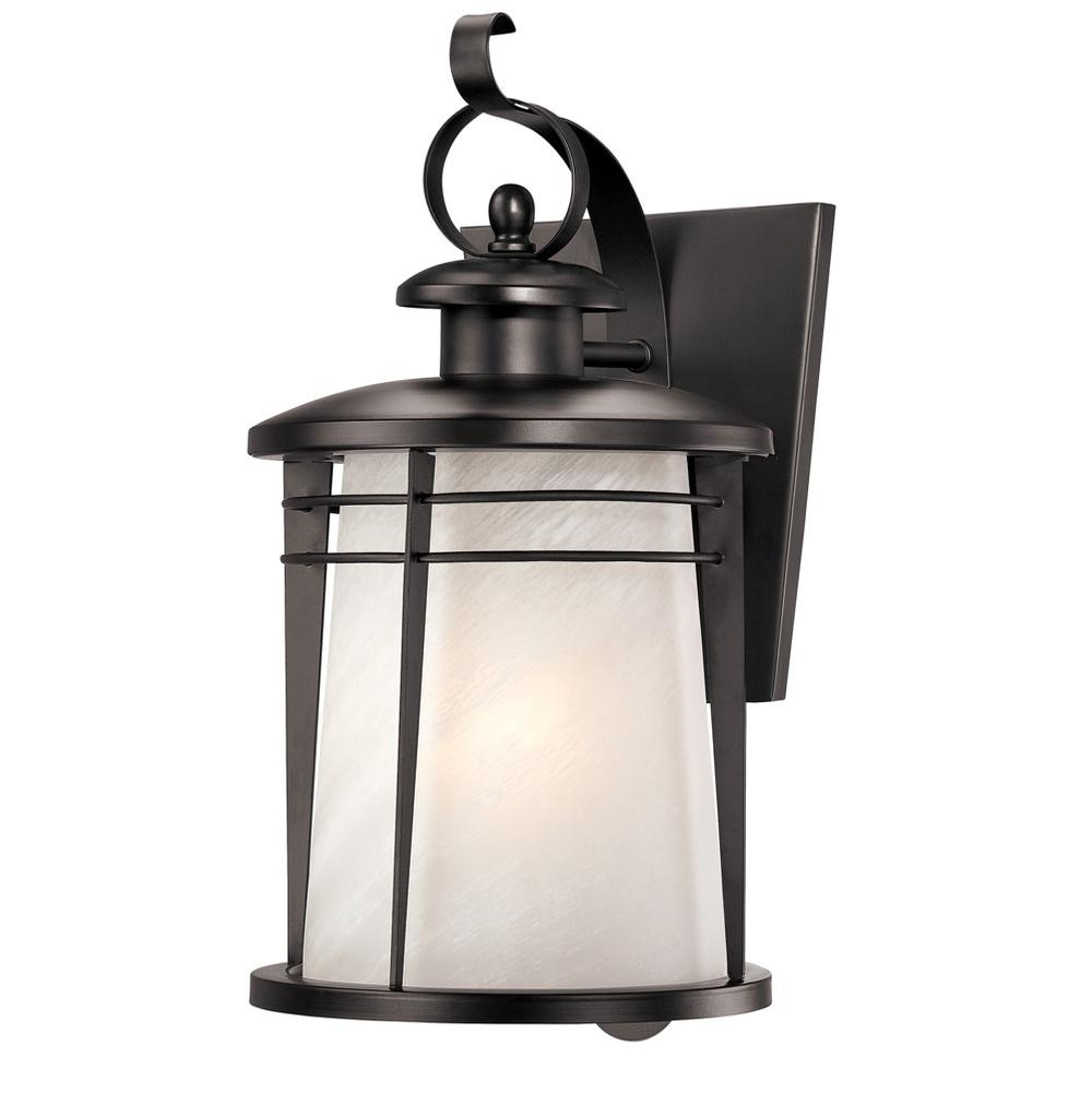 80 63 6674200 Westinghouse 1lt Wall Ltn Wthrd Bronze Weathered Outdoor Lighting